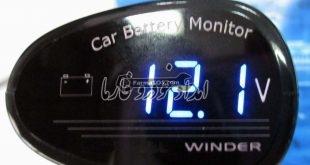 ولتاژ باتری