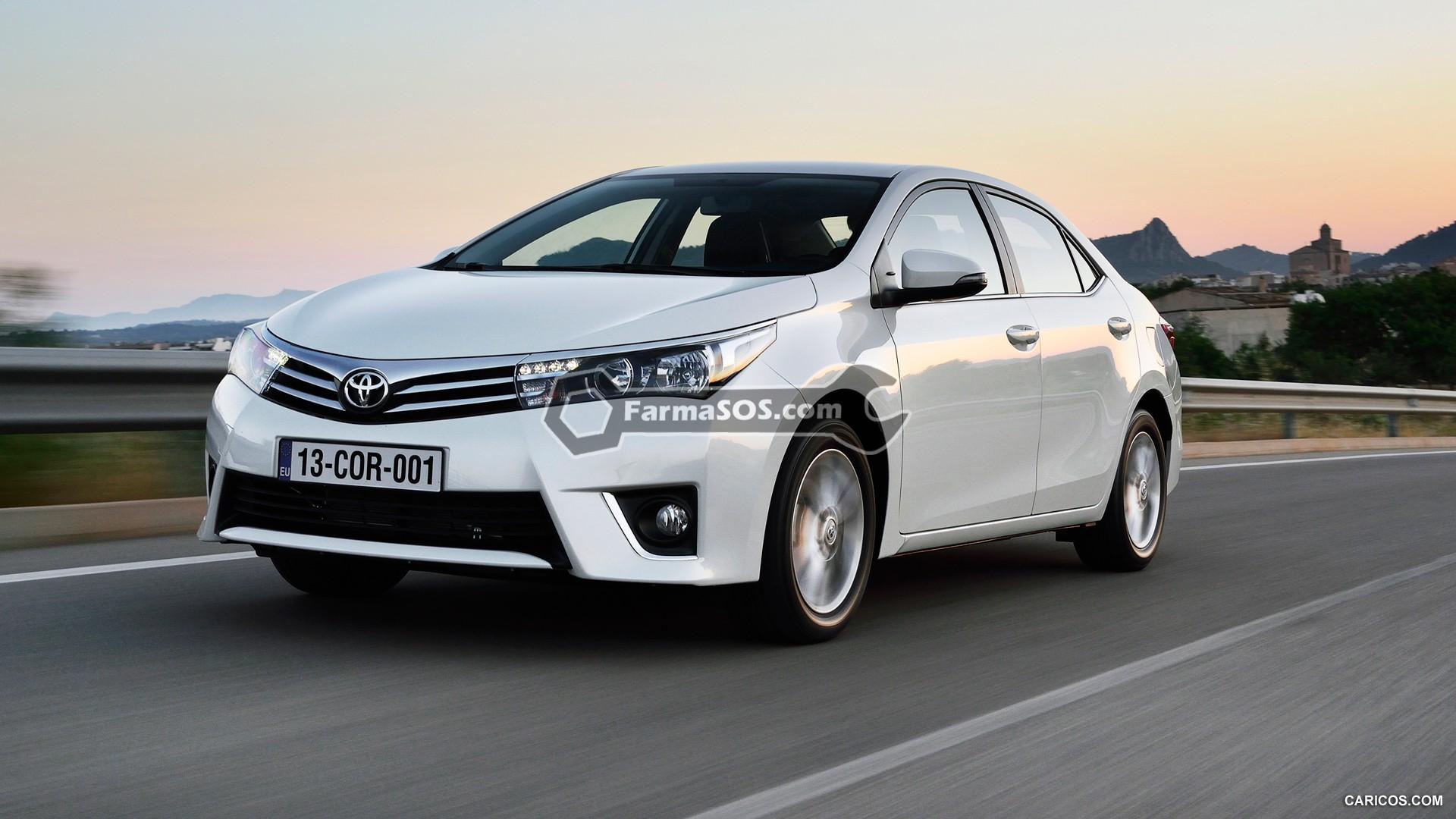 Toyota Corolla 2014 2015 2 باتری تویوتا کرولا