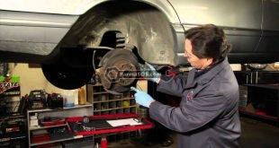 بازرسی ترمزهای اتومبیل