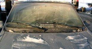 آلودگی روی شیشه خودرو