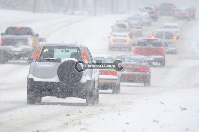 رانندگی در برف4 آموزش رانندگی در برف و یخبندان