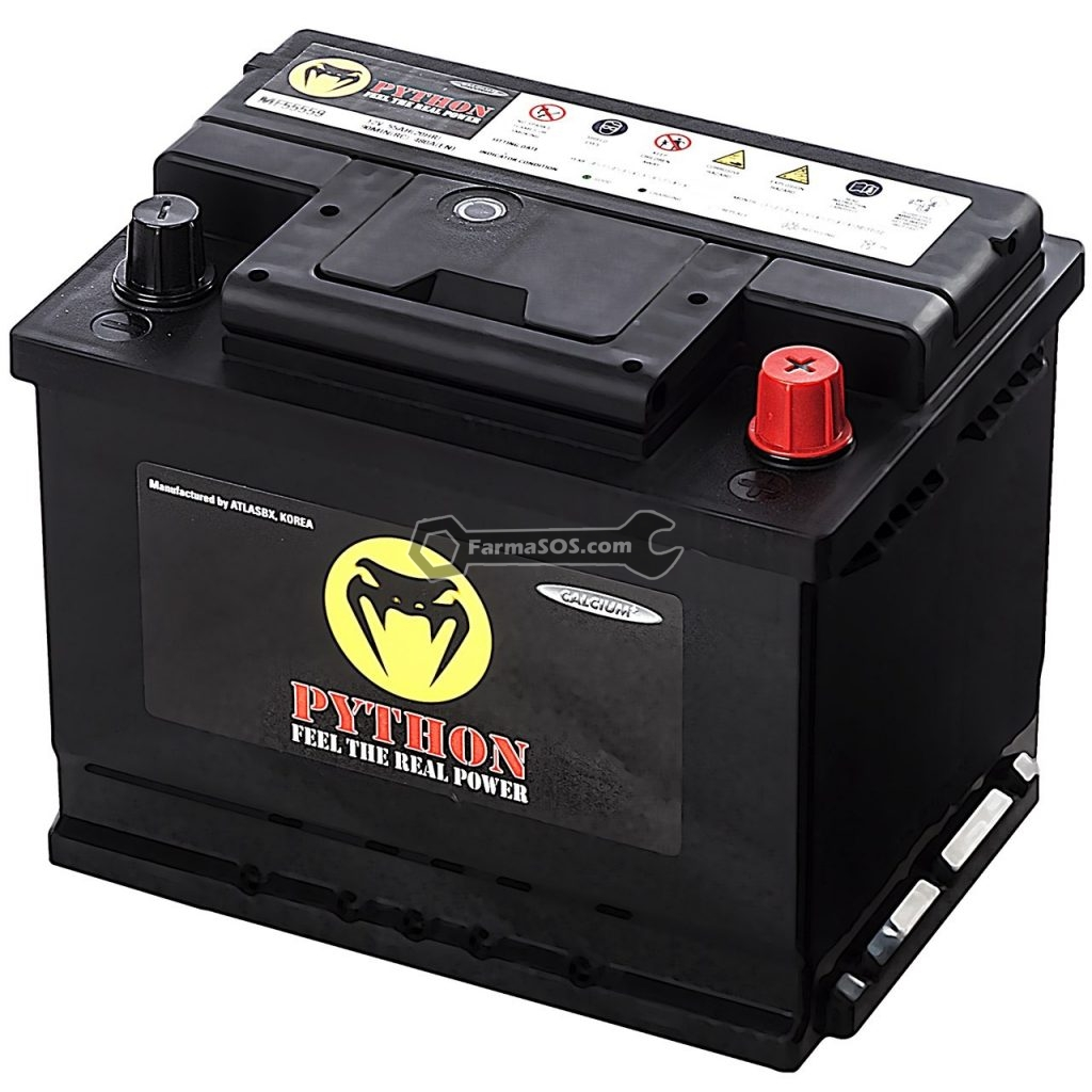 Python Atomic Automotive Battery 55AH 1024x1024 باتری 180 آمپر ساعت پیتون کره جنوبی