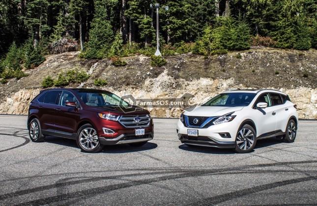 2015 Ford Edge vs Nissan Murano 02 BM 645x420 جدال نیسان مورانو با فورد اج