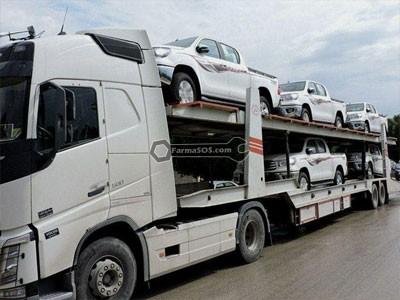 تریلر خودروبر حمل خودرو با خودروبر
