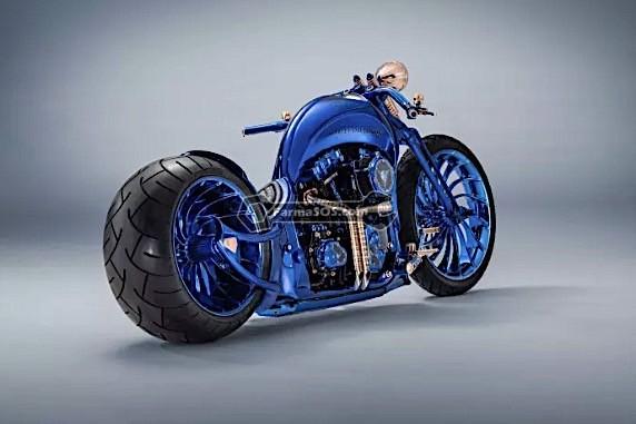 1758 گرانترین موتورسیکلت دنیا