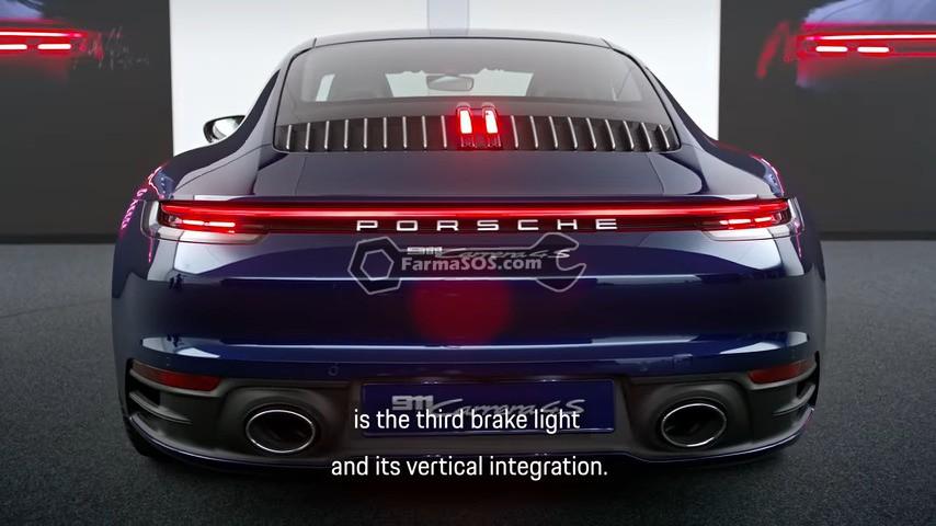 2405 5 ویژگی برجسته در طراحی پورشه 911 جدید